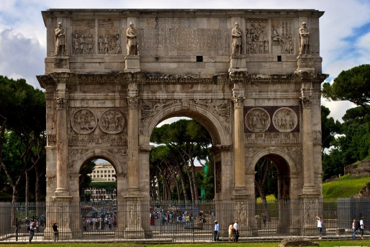 Arch of Constantine, Things to do in Rome, Italy