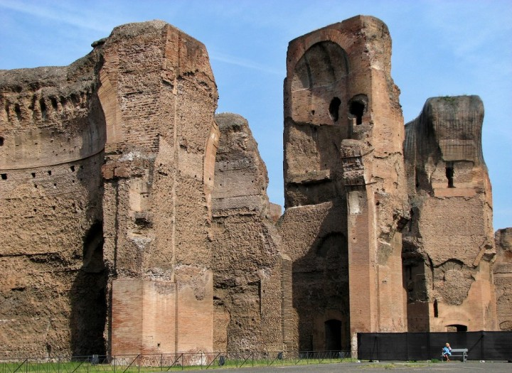 Baths of Caracalla, Things to do in Rome, Lazio, Italy