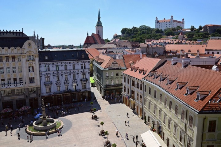 Bratislava old town, Top places to visit in Slovakia