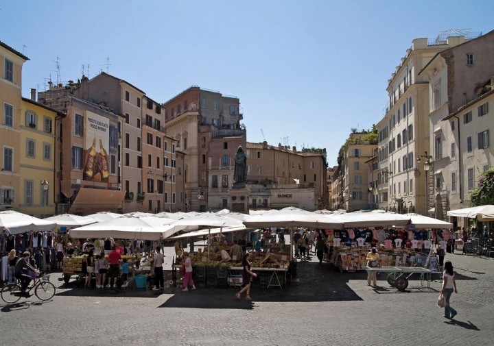 Campo de' Fiori square, Things to do in Rome, Lazio, Italy