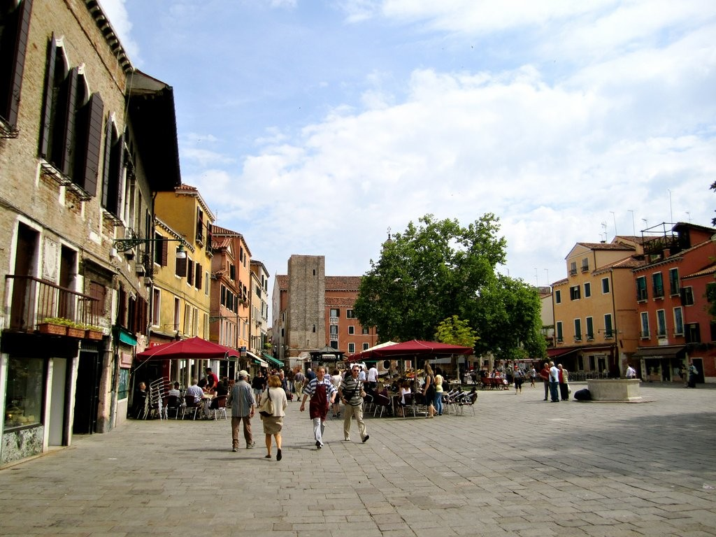 Campo Santa Margherita, Things to do in Venice, Italy