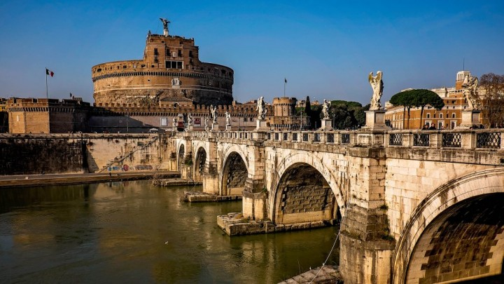Castel Sant'Angelo and Ponte Sant'Angelo, Things to do in Rome, Lazio, Italy