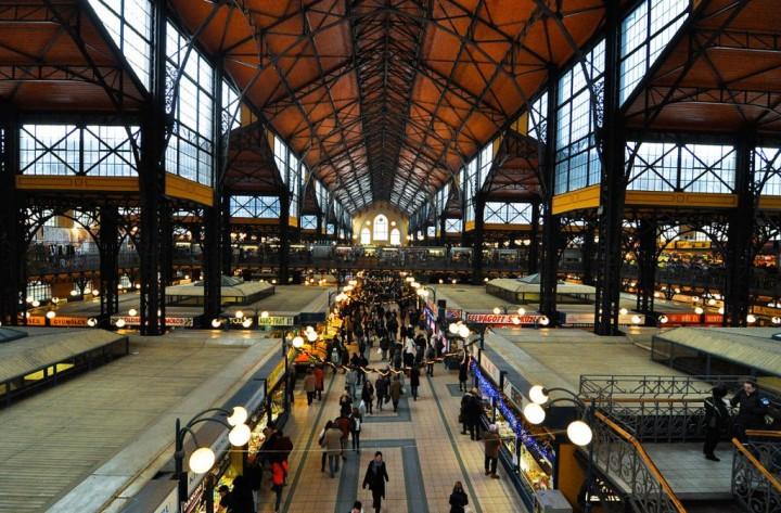 Central Market Hall, Things to Do in Budapest, Hungary
