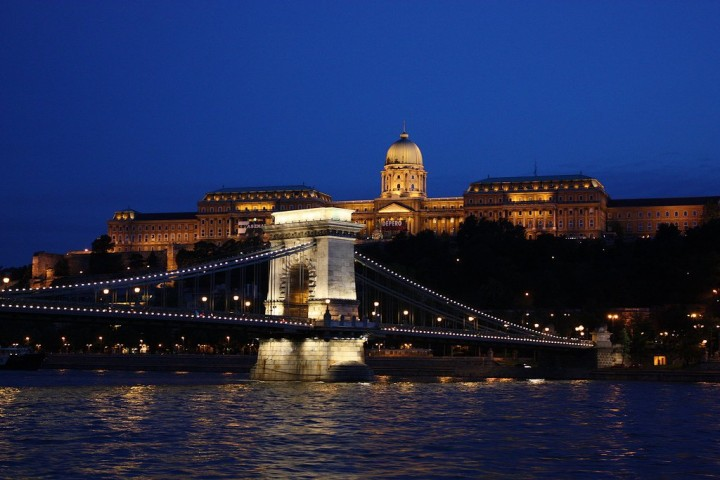 Chain Bridge, Buda Castle, Things to Do in Budapest, Hungary