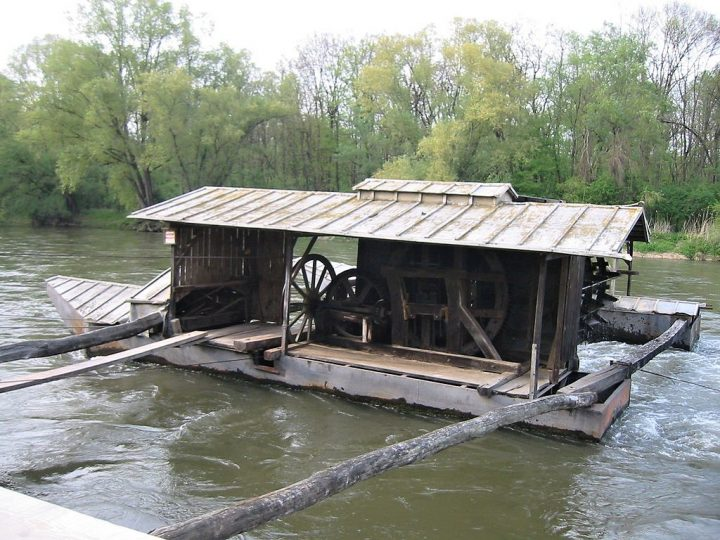 Floating mill on river Mura, Things to do in Slovenia