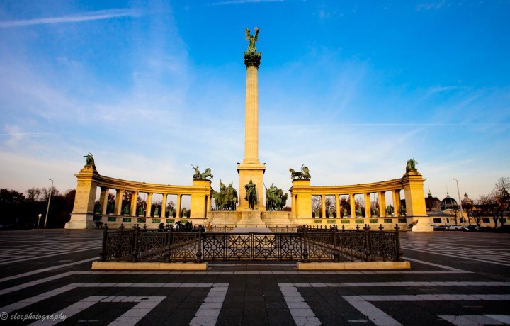 Heroes Square, Things to Do in Budapest, Hungary