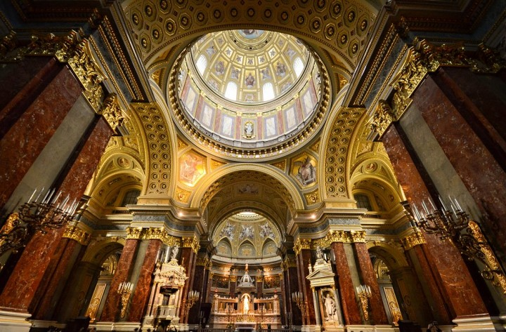 Inside of St Stephen's Basilica, Things to Do in Budapest, Hungary