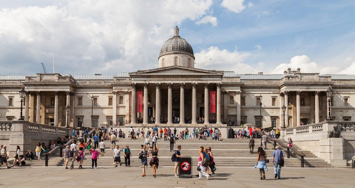 London National Gallery, Things to do in London, England, UK
