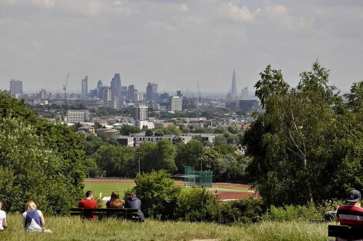 London from Hampstead Heath, Things to do in London, England, UK