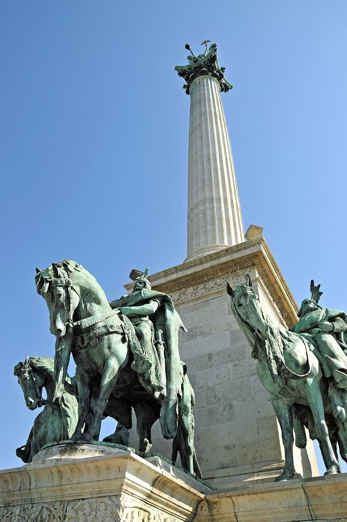 Millennium Monument, Heroes Square, Things to Do in Budapest, Hungary