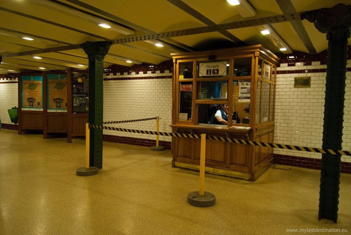 Old metro ticket office, Things to Do in Budapest, Hungary