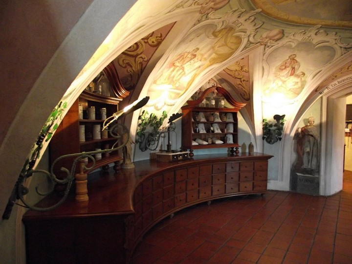 Olimje, pharmacy, Most beautiful places in Slovenia