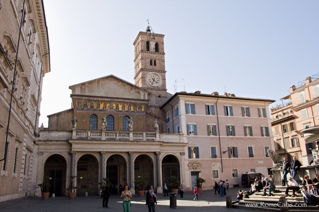 Piazza Santa Maria in Trastevere, Things to do in Rome, Lazio, Italy