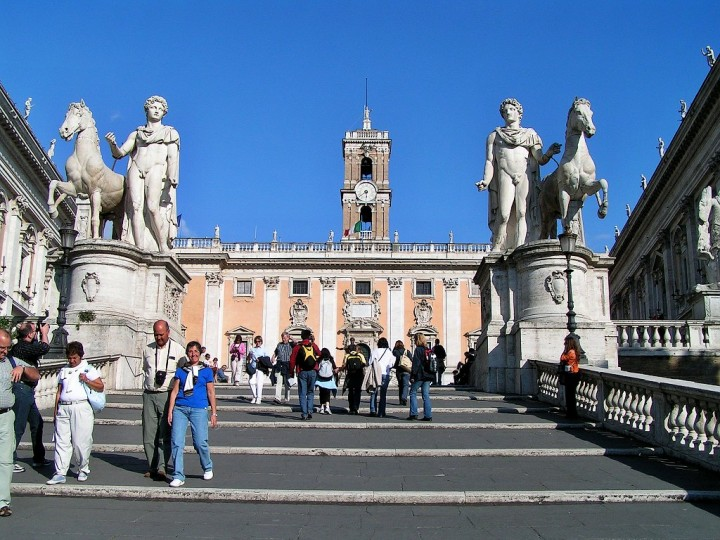 Steps to Piazza del Campidoglio, Things to do in Rome, Lazio, Italy