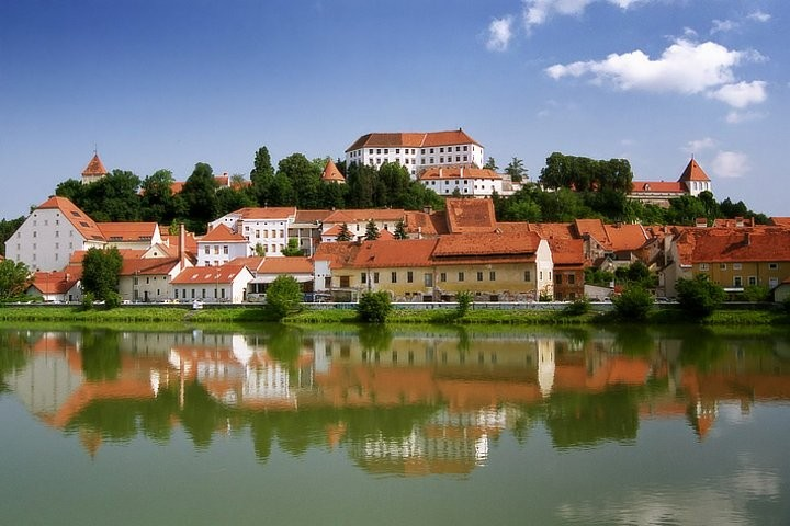 Ptuj with a castle above, Most beautiful places in Slovenia