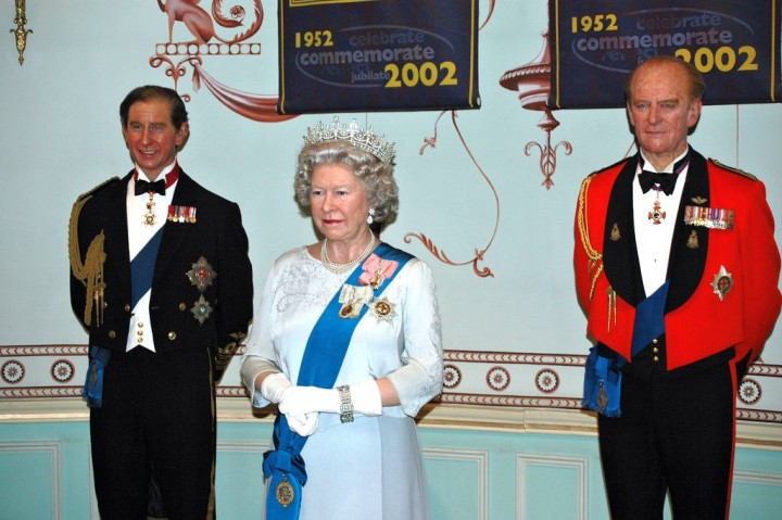 Queen Elisabeth II., Prince Charles, Prince Philip - Madame Tussauds, Things to do in London, England, UK