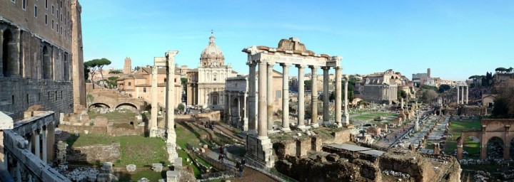 Roman Forum - panorama, Things to do in Rome, Lazio, Italy