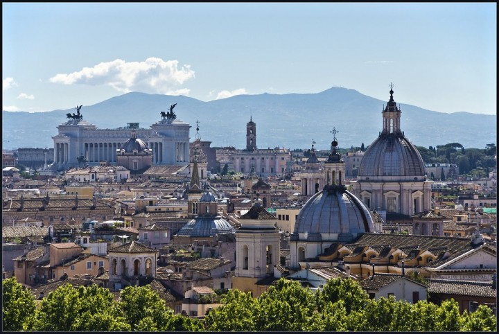 Rome skyline, Things to do in Rome, Italy