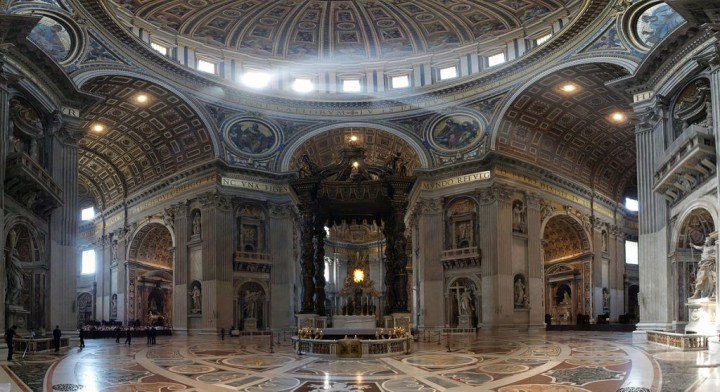 St. Peter's Basilica - interior, Vatican city