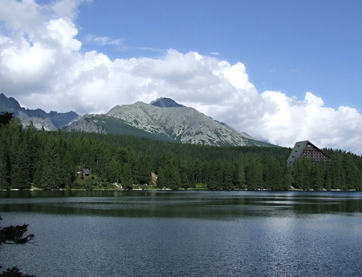 Strbské pleso glacial lake, High Tatras National Park, Top places to visit in Slovakia