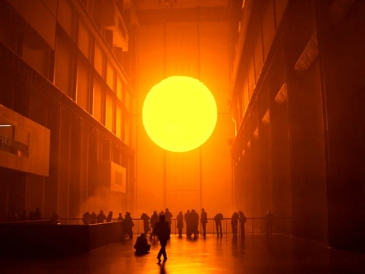 "Tate Modern ""The weather project"", Things to do in London, England, UK"