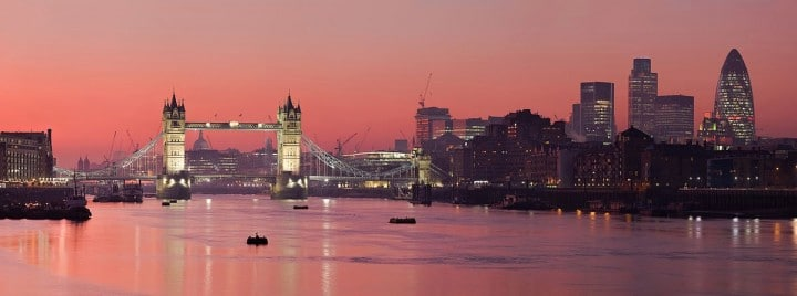 The Tower Bridge, London and River Thames, Things to do in London, England, UK
