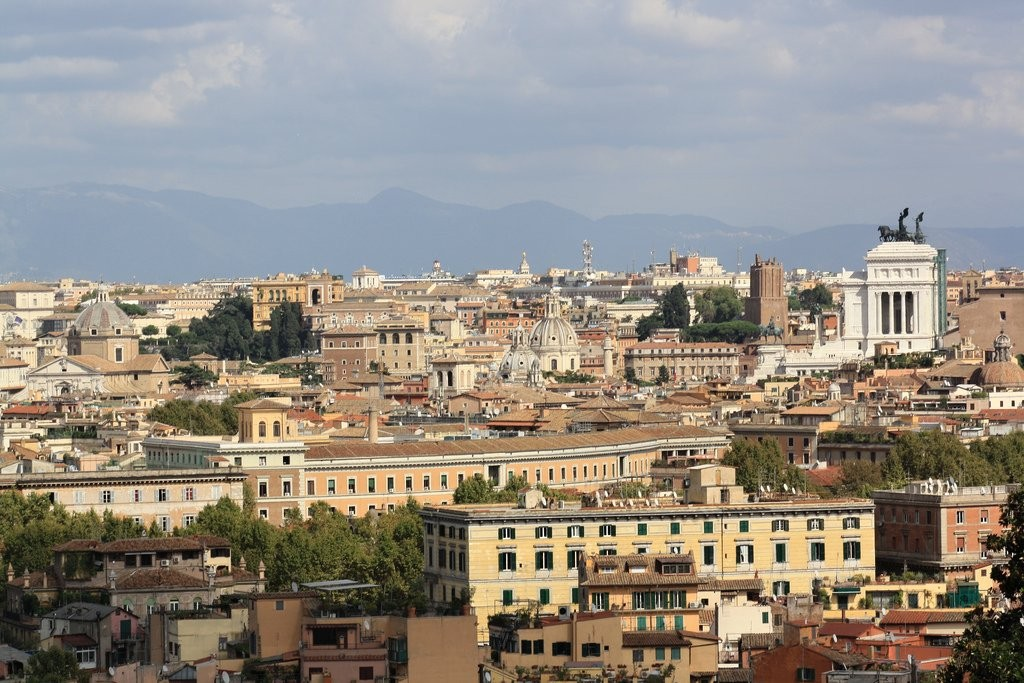 View of Rome from the Fontana dell'Acqua Paola, Things to do in Rome, Italy