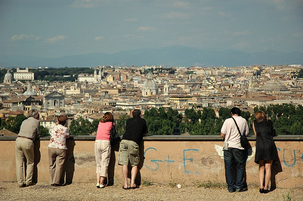 View of Rome from Gianicolo Hill, Things to do in Rome, Italy