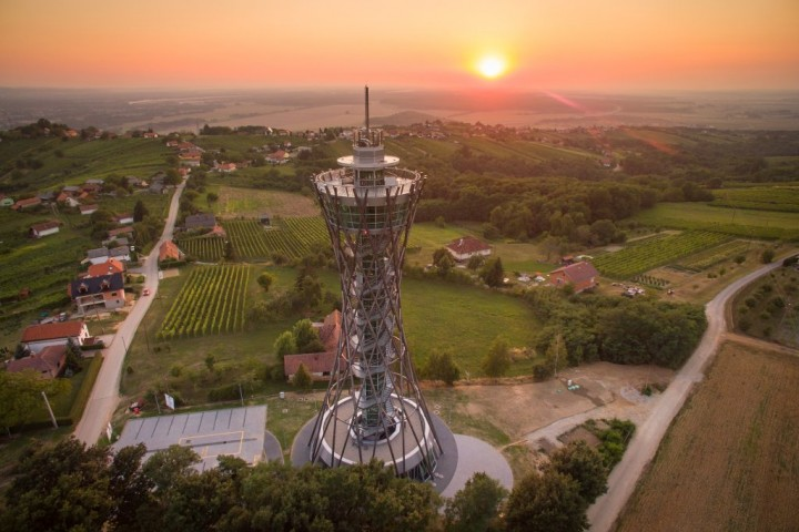 Vinarium Lendava watchtower, Most beautiful places in Slovenia