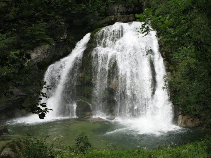 Virje waterfall, Most beautiful places in Slovenia