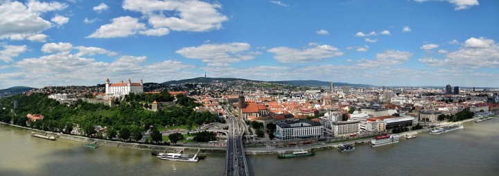 Panorama of Bratislava, Top places to visit in Slovakia