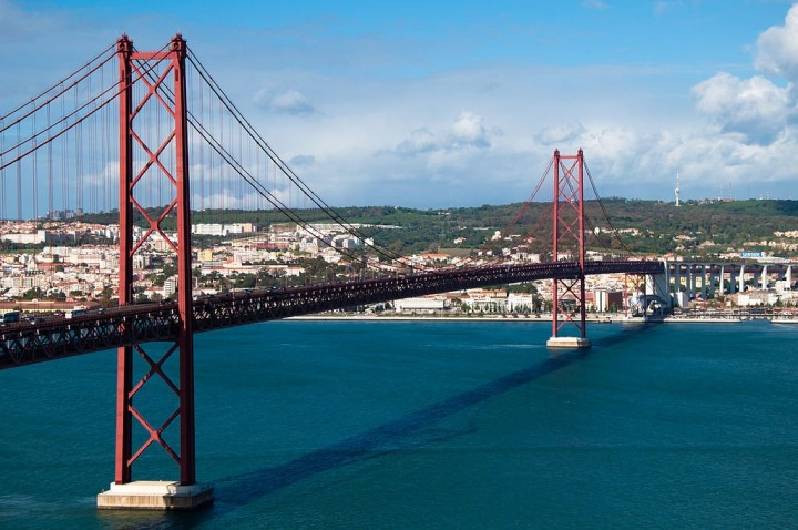 25th of April Bridge, Top Places to see in Lisbon, Portugal