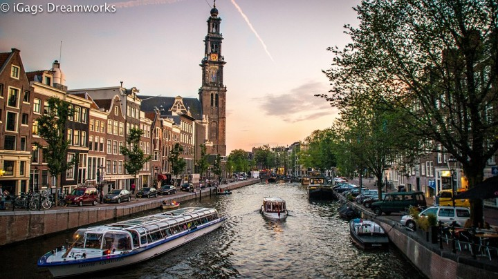 Canals of Amsterdam, Netherlands