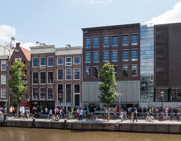 Anne Frank House on the Prinsengracht, Things to do in Amsterdam, Netherlands