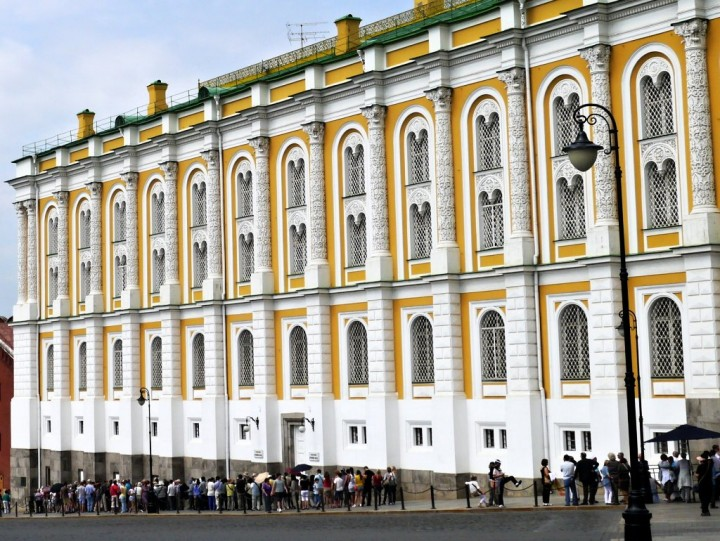 Armoury Kremlin, Most beautiful places in Moscow, Russia