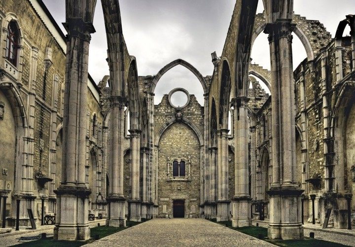 Carmo Convent ruins, Top Places to see in Lisbon, Portugal