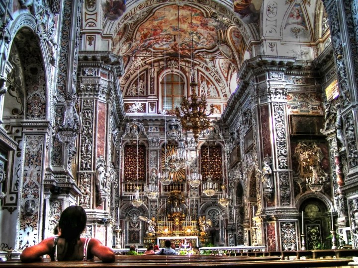 Church of Santa Caterina, Palermo, Sicily, Italy