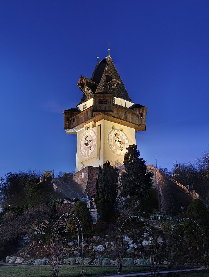 Clock tower, Schlossberg hill, Things to do in Graz, Austria