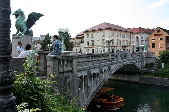 Dragon Bridge, What to see in Ljubljana, Slovenia