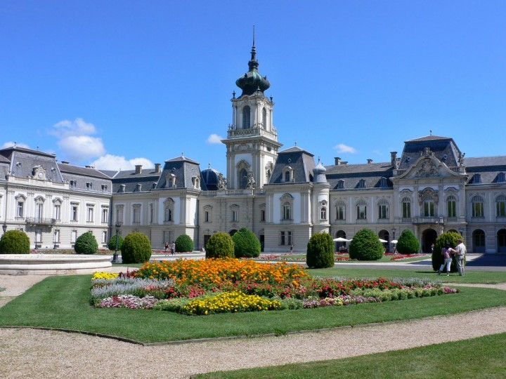 Festetics Palace at Keszthely, Most beautiful cities and towns in Hungary
