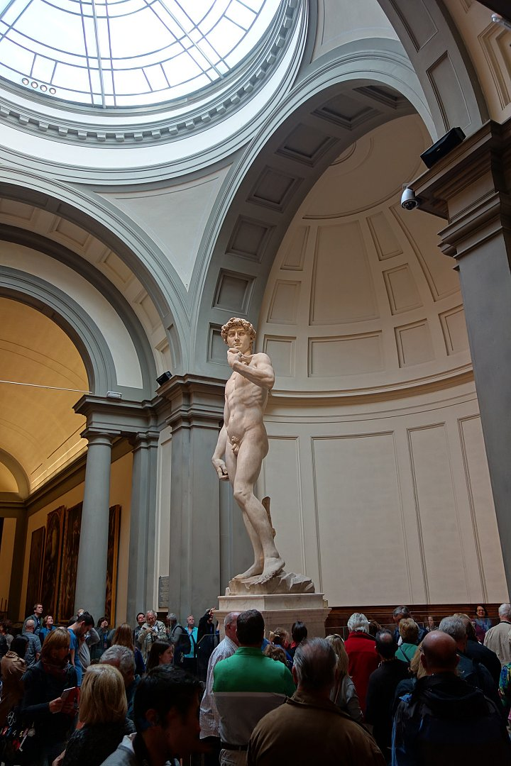 Michelangelo's David, Galleria dell'Accademia, Things to do in Florence, Tuscany, Italy
