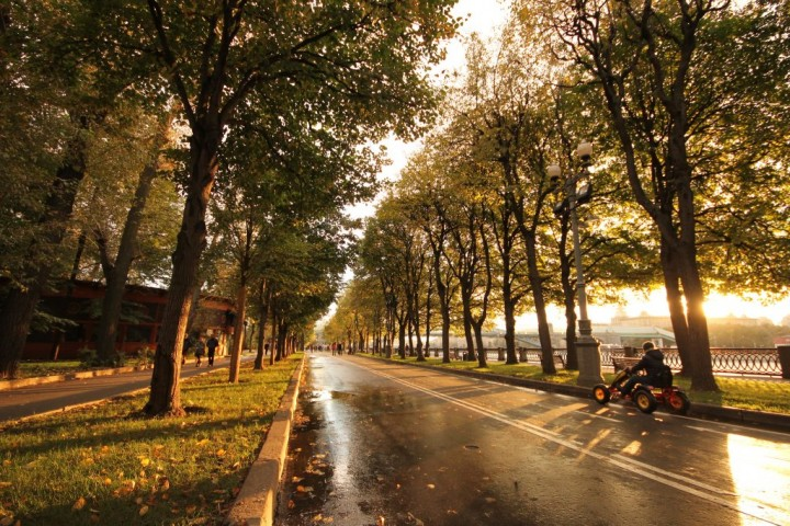 Gorky Central Park, Most beautiful places in Moscow, Russia