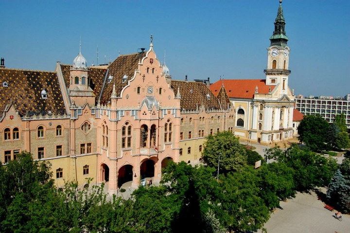 Kecskemét, Town hall, Most beautiful cities and towns in Hungary