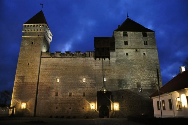 Kuressaare Castle, Most beautiful cities and towns in Estonia