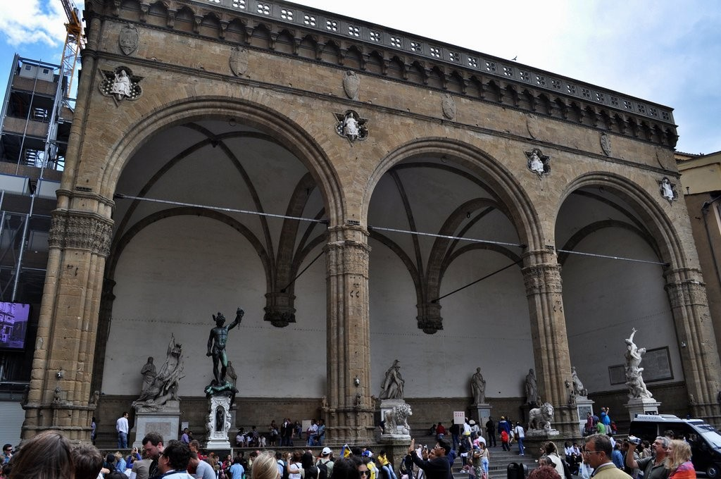 Loggia dei Lanzi, Things to do in Florence, Tuscany, Italy