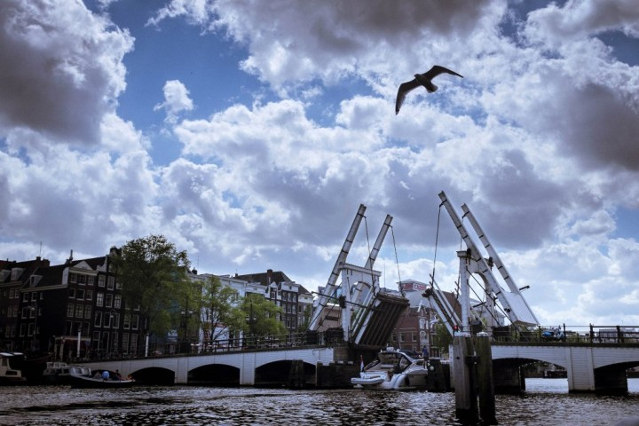 Magere Brug, Things to do in Amsterdam, Netherlands