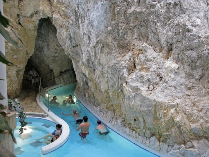 Miskolc-Tapolca cave bath, Most beautiful cities and towns in Hungary