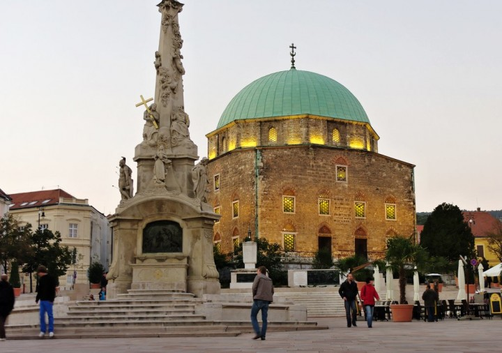 Mosque of Pasha Qasim (now a Church), Pécs, Most beautiful cities and towns in Hungary