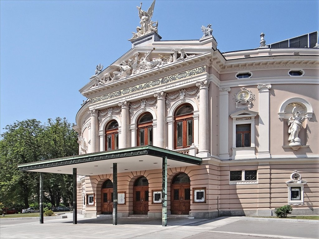 National Opera and Ballet Theater, What to see in Ljubljana, Slovenia