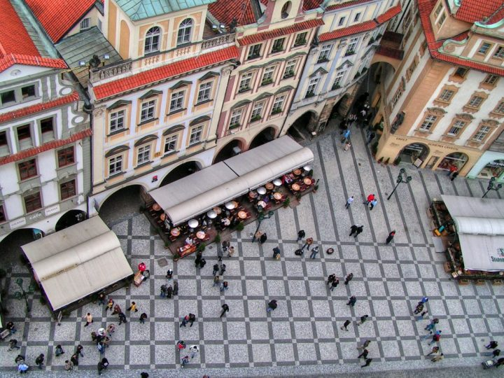 Old Town Square from Old Town Hall Tower, Things to do in Prague
